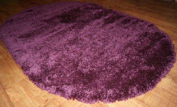 Ковер Шагги Фит фиолетовый 800*1500мм овал от Ravta