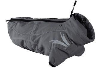hurtta Жакет тёплый Hurtta Frost Jacket 90 (длина спины 90см), Гранитный 931068