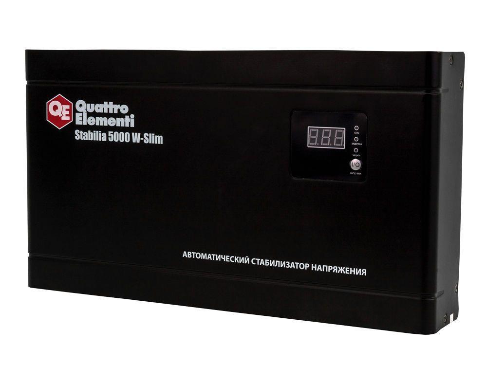 Стабилизатор напряжения QE Stabilia 5000 W-Slim от Ravta