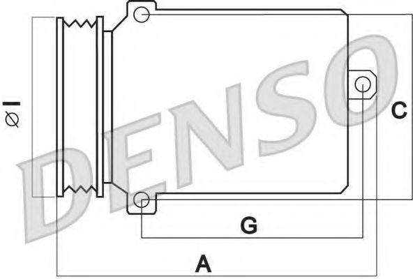 (dcp32006) DENSO Компрессор Denso от Ravta