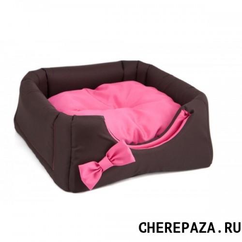 comfy Домик трансформер COMFY LOLAкоричневый/розовый (43х43х39 см) 238438