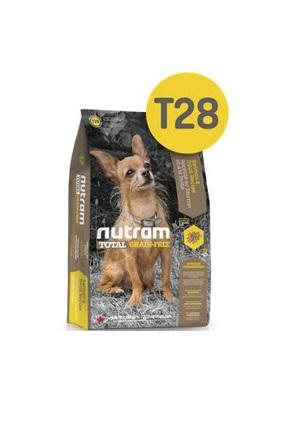 Корм Nutram T28 GF SB Salmon & Trout Dog Food, беззерновой для собак мелких пород из мяса лосося и форели, 2,72кг от Ravta