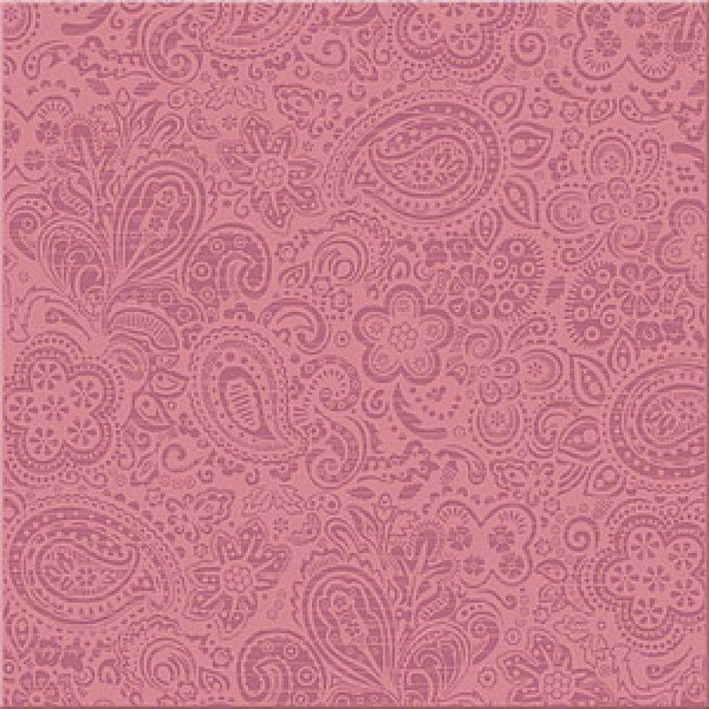 Керамическая плитка напольная Azori Дамаско Росо розовый 333*333 (шт.) от Ravta
