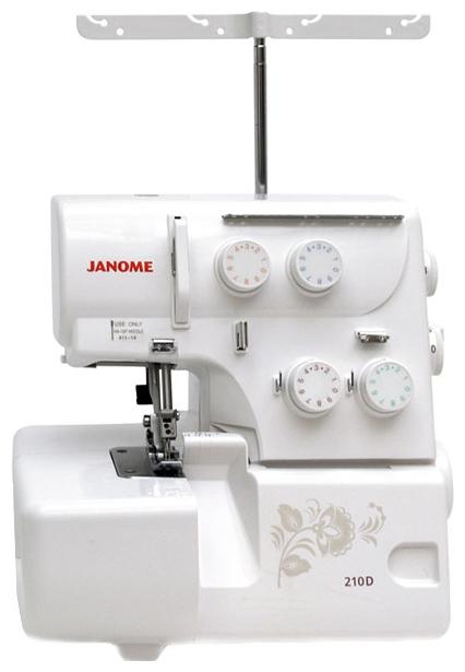 Оверлок Janome ML 210D оверлок от Ravta