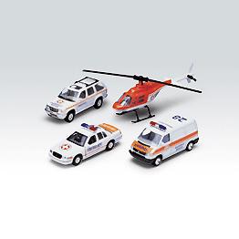 Набор Машинок Скорая Помощь 4 Шт, Welly 98160-4DМашинки, автотреки, катера, самолеты, танки<br><br><br>Артикул: 98160-4D<br>Бренд: Welly