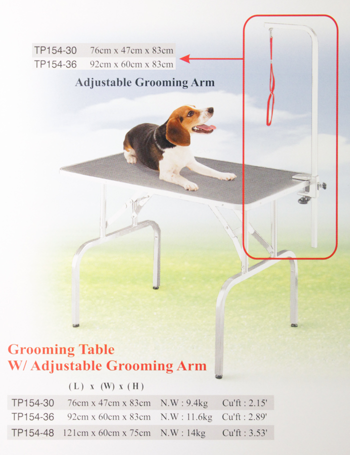 Стол д/стрижки собак с арматурой, 92х60х83 см от Ravta
