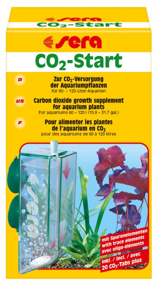"""Sera CO2-Старт (CO2-Реактор + таблетки """"CO2-табс плюс"""") от Ravta"""
