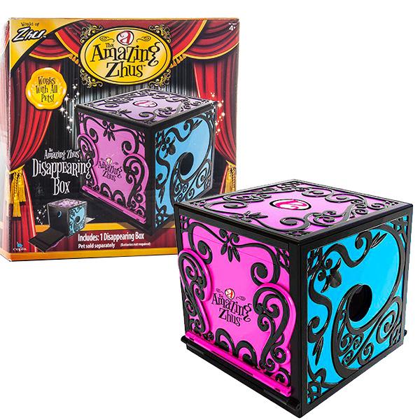 Интерактивная игрушка Игровой набор Коробка для фокуса с исчезновением, Amazing Zhus 26230Интерактивные игрушки<br><br><br>Артикул: 26230<br>Бренд: Amazing Zhus