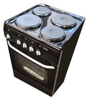 De Luxe Электрическая плита De Luxe 5004.12 э черная