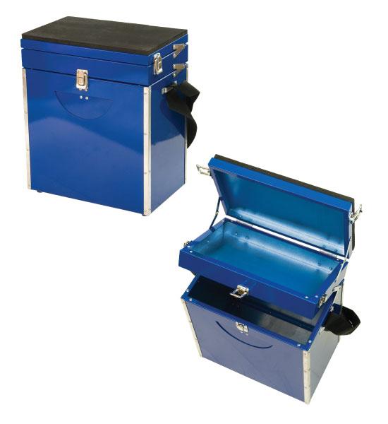 Ящик зим. синий 30х35х20 малый от Ravta
