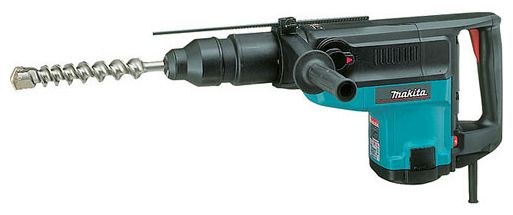 Перфоратор MAKITA HR 5001 C, 1500Вт 17.5Дж SDS MAX 1100-2150уд/мин 120-240об/мин 50мм 10кг кейс пласт. HR5001C от Ravta