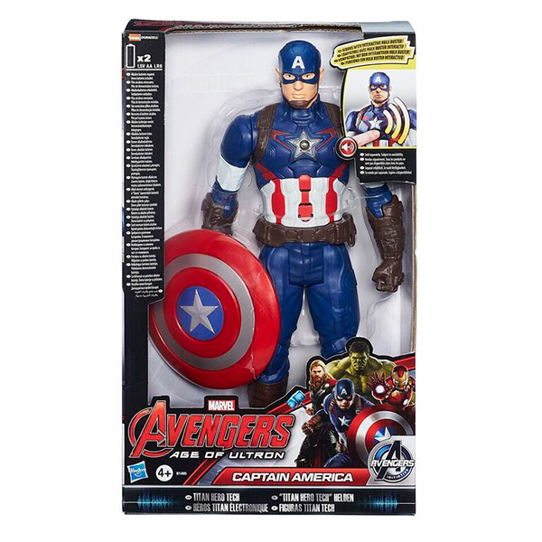 Титаны: Электронные Фигурки Мстителей, в ассортименте Avengers B0433Фигурки, наборы с фигурками<br><br><br>Артикул: B0433<br>Бренд: Hasbro Avengers