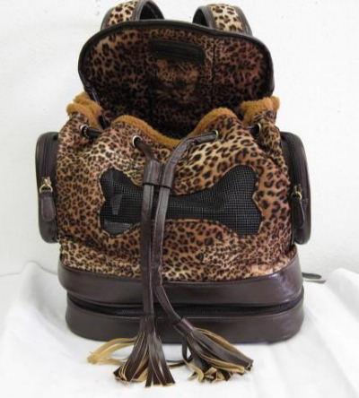backbone Сумка-переноска Леопард, корич., 27х20х39 см BA7106B