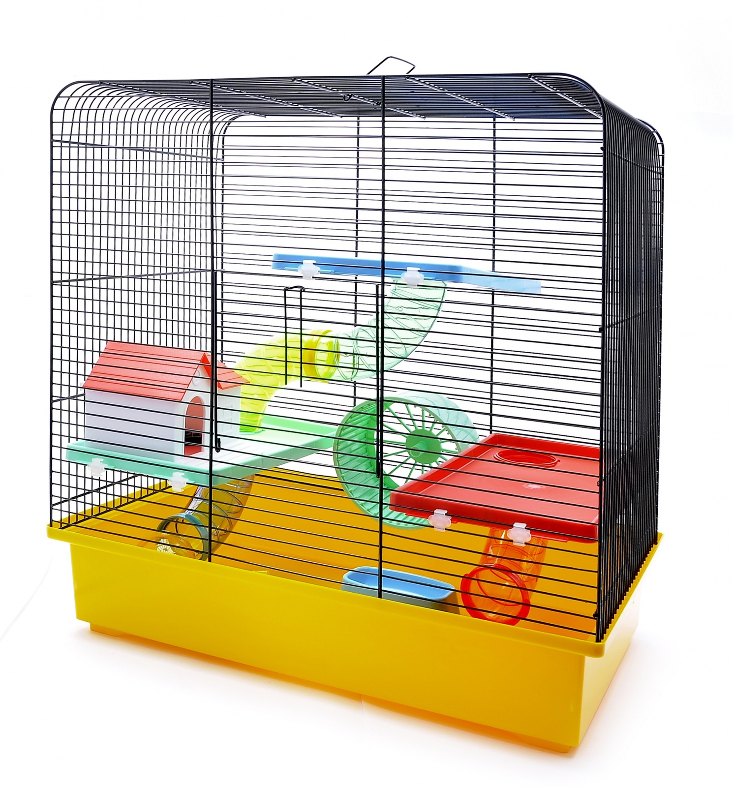 benelux Benelux Клетка для хомяков Валерия 49 * 32,5 * 52,5 см (Cage for hamsters valerie funny) 35131 31461