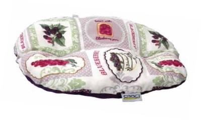 Матрац овальный Черника, 45х30 смДомики, лежаки, когтеточки<br><br><br>Артикул: C2078208<br>Бренд: Croci<br>Родина бренда: Италия