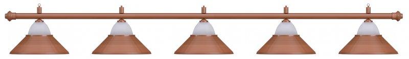 Лампа на пять плафонов Jazz D38 (бронзовая)Аксессуары для бильярда<br><br><br>Артикул: 75.027.05.0<br>Бренд: Classic