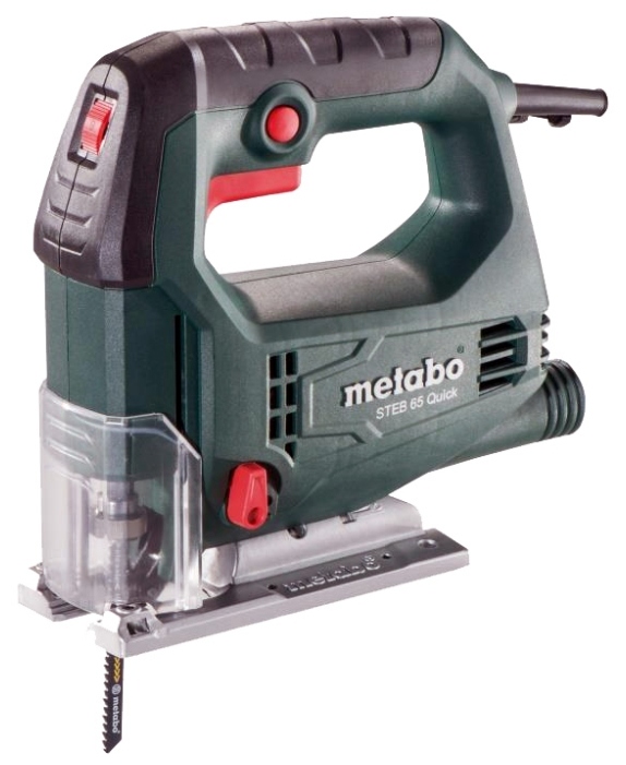 Лобзик METABO STEB 65 Quick, 450Вт 600-3000об/м 65/18/6мм 45° 1.9кг (601030000) 601030000 от Ravta
