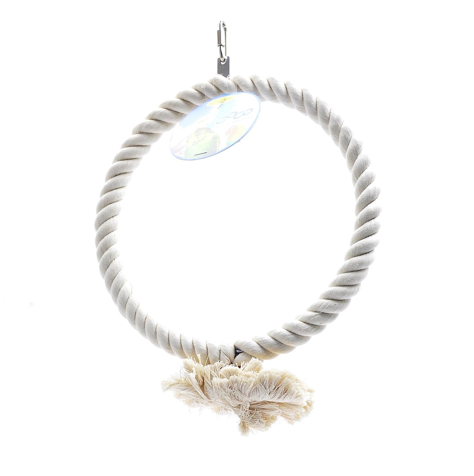 "Benelux Игрушка для птиц ""Большое кольцо"" 27 см (Coco big toy 1 ring 27 cm) 14440 от Ravta"