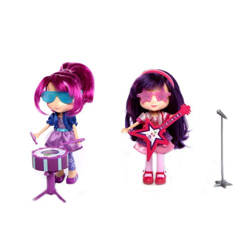 Кукла Шарлотта Земляничка 15 см с музыкальным инструментом, 4 в ассортименте, Ling Dong 12243Куклы и аксессуары для кукол<br><br><br>Артикул: 12243<br>Бренд: Шарлотта Земляничка