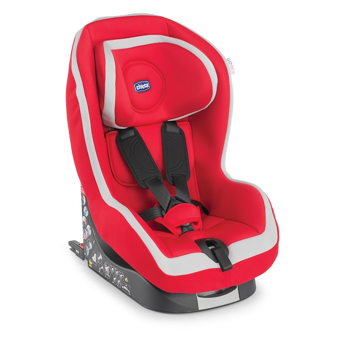 Автокресло Go-One ISOFIX Red от Ravta