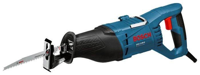 Пила сабельная BOSCH GSA 1100 E, 1.1кВт 0-2700х/мин 28мм 230мм 3.5кг (060164C800) 060164C800 от Ravta