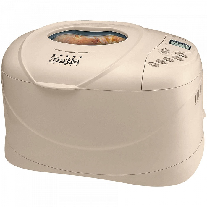 Хлебопечь DELTA DL-70B 800 вт,вес выпечки 1300 г от Ravta