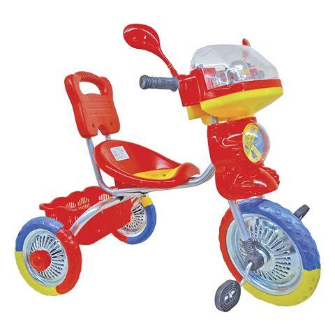 Велосипед Трехколесный металлические колеса 10/8 дюимов, Светлячок GT (GT7863) от Ravta