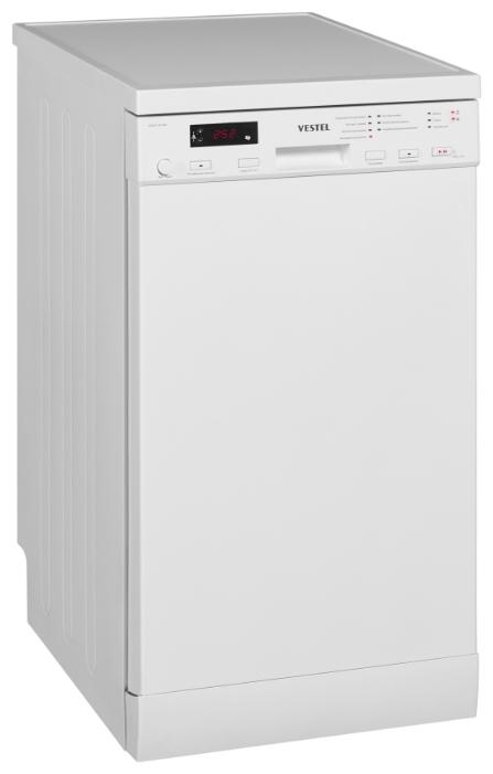 Посудомоечная машина VESTEL  VDWIT 4514W 10 комплектов,45x60x85 см, цвет белый от Ravta