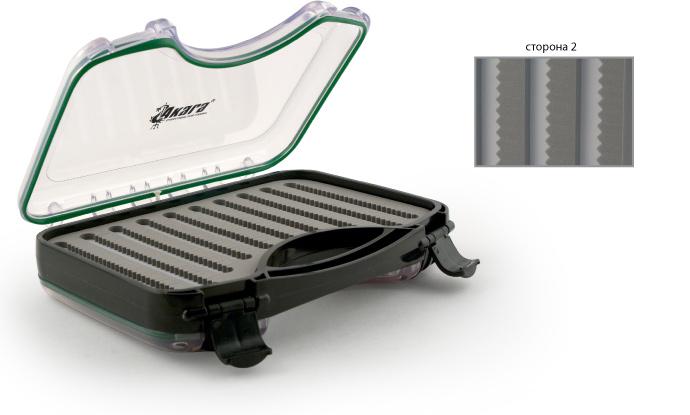 Коробка Akara MS-0011 27х18х6 см двусторонняяКоробки для снастей, наживки<br><br><br>Артикул: MS-0011<br>Бренд: AKARA<br>Количество штук в упаковке: 1<br>Продажа товара кратно упаковке: Да