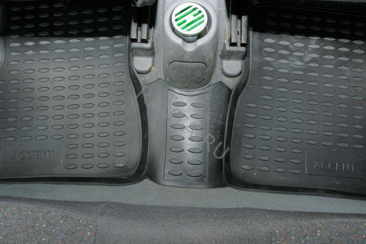 Коврики Novline в салон HYUNDAI Accent 2000-2005, 4 шт. (полиуретан)Коврики<br><br><br>Артикул: NLC.20.06.210k<br>Бренд: Novline<br>Применяемость: Hyundai Accent