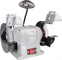 Точило ИНТЕРСКОЛ Т-150/250, 250Вт 150х40х12.7мм 2950об/мин 7.8кг +светодиодн лампа 3030300100 от Ravta