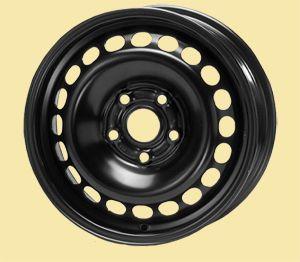 Диск колесный KFZ 6215 5,5Jx14 4x108 ET24 Dia 65 черный Штампованный от Ravta