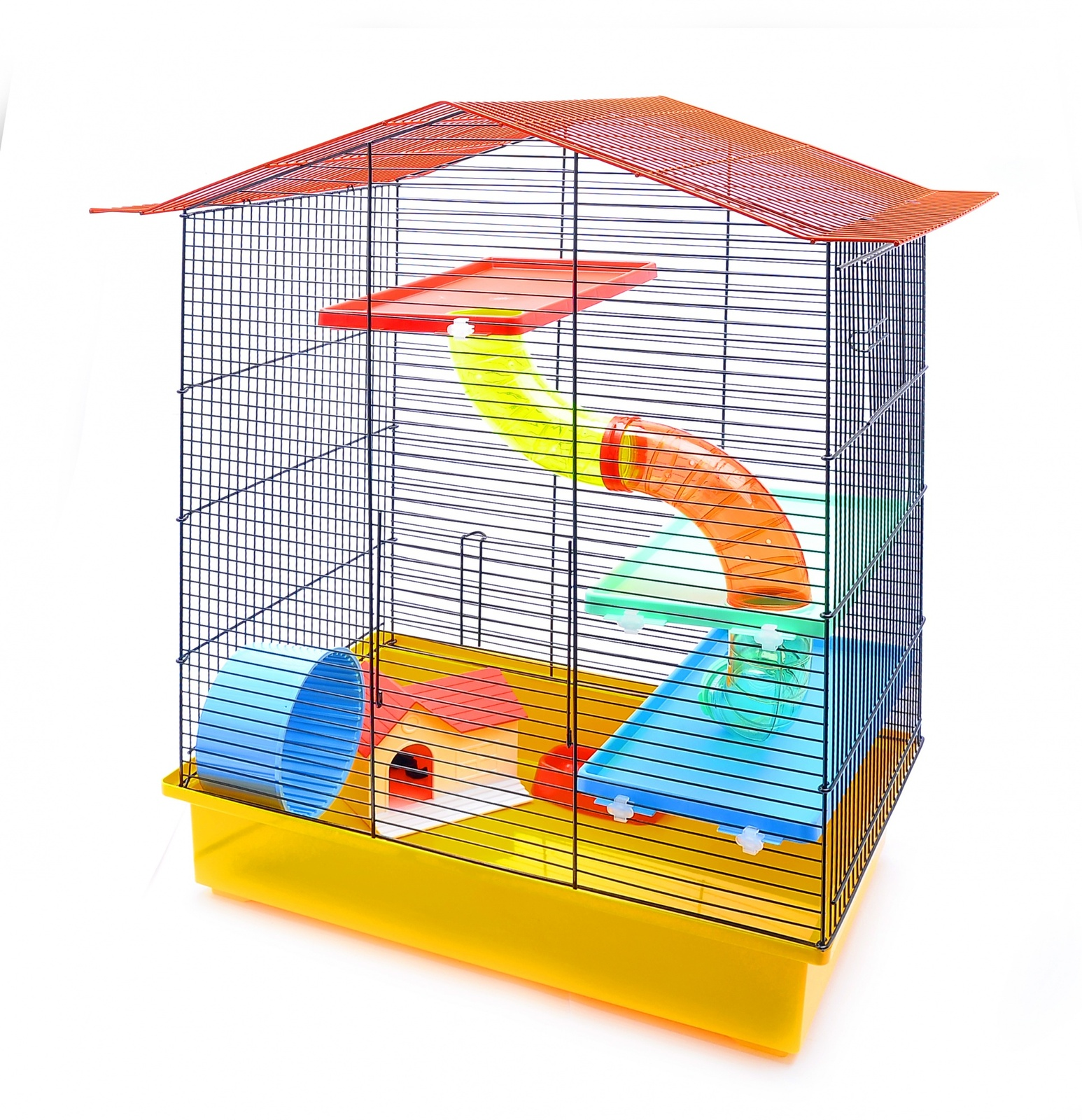benelux Benelux Клетка для хомяков Миа 58 * 40,5 * 68 см (Cage for hamsters mia funny) 35143 31467