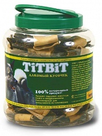 TiTBiT Бантики с желудком говяжьим, банка пласт. ,4.3 л (3116) от Ravta