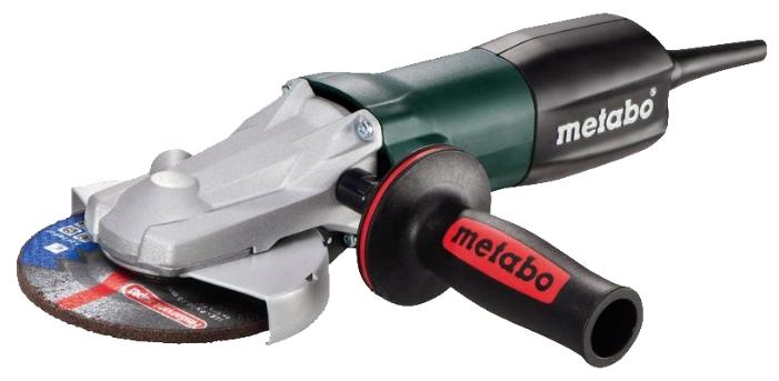 Угловая шлиф.машина METABO WEF 15-150 Quick, 1.55кВт 150мм 9600об/мин плоский редуктор (613083000) 613083000 от Ravta