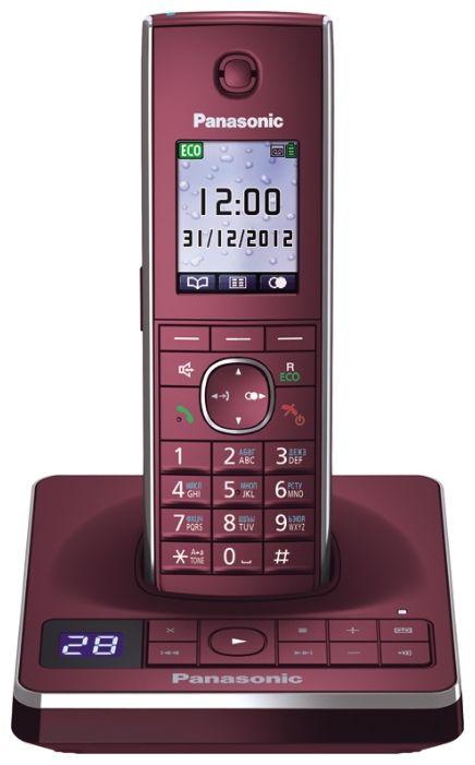 Телефон DECT Panasonic KX-TG8561RUR (красный) от Ravta