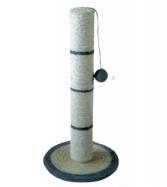 Когтеточка-столбик с мячиком, диам.35х62 см, сизаль ТМ-4310 от Ravta
