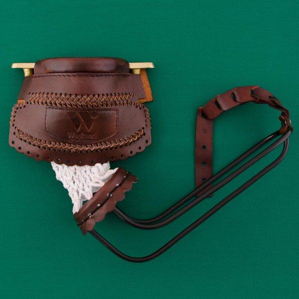 Комплект луз c выкатом, кожаное плетение, лен (68 мм)Аксессуары для бильярда<br><br><br>Артикул: 71.002.00.9<br>Бренд: Classic
