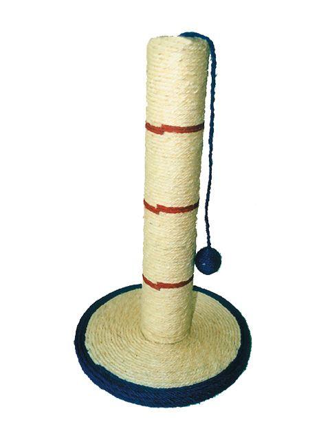 """Когтеточка """"Столб на сизалевой подставке"""", диам. 30 х 53 см, сизаль от Ravta"""