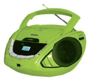 Магнитола BBK BX190U черный/зеленый от Ravta