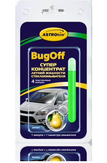 Стеклоомывающая летняя жидкость «BUGoff» Astrohim AC-4110 концентрат (лето), дюшес, блистер от Ravta