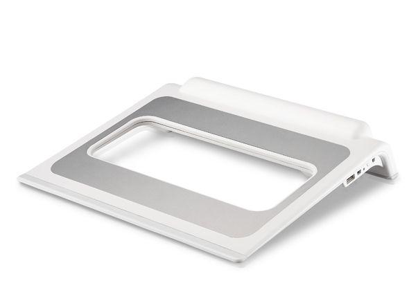Подставка Cooler Master Notepal Choiix mini Air Through w/o hub <белый> (C-HL03-WS) от Ravta