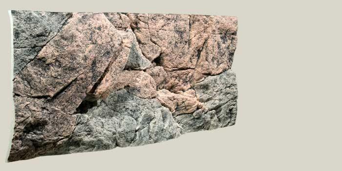 on the rocks Задник д/аквариума СКАЛЫ, 130 х 50 см 6113050