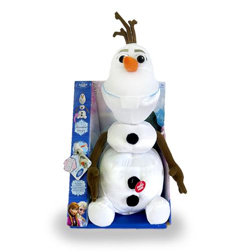 Олаф говорит и тянется 35 см Disney 12810Мягкие игрушки<br><br><br>Артикул: 12810<br>Бренд: Disney
