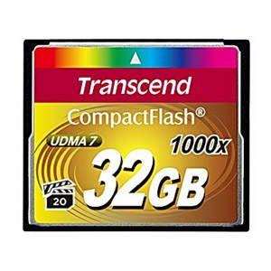 Карта памяти Transcend 32GB 1000X CompactFlash Card (TS32GCF1000) от Ravta