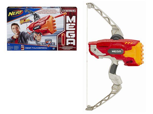 Бластер Мега Лук Нерф (Nerf), Hasbro A8768Игрушечное оружие<br><br><br>Артикул: A8768<br>Бренд: Nerf<br>Категории: Бластеры