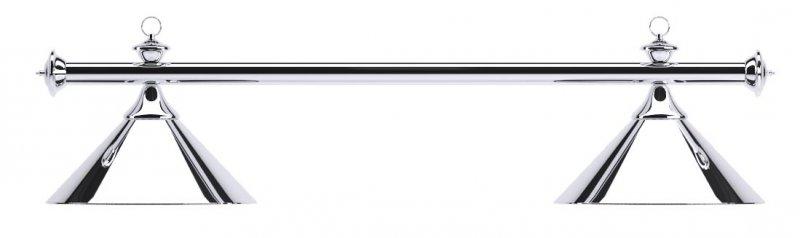Лампа на два плафона Elegance D35 (серебристая)Аксессуары для бильярда<br><br><br>Артикул: 75.002.02.0<br>Бренд: Classic
