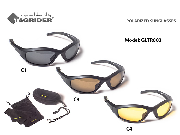 Очки поляриз.Tagrider в чехле GLTR 003 C4 YLОчки поляризационные<br><br><br>Артикул: GLTR003-C4<br>Бренд: Tagrider<br>Количество штук в упаковке: 1<br>Продажа товара кратно упаковке: Да