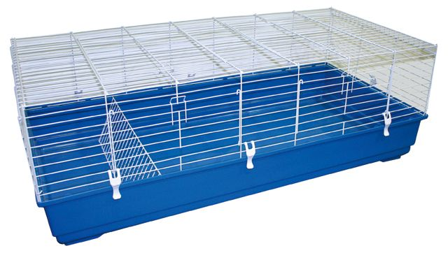 croci Клетка д/круп. грызунов Cavia 140, 140х69х49 см, голуб./бел. R2075464