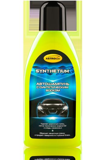 Автошампунь с синтетическим воском Astrohim SYNTHETIUM AC-314 (500 мл) от Ravta